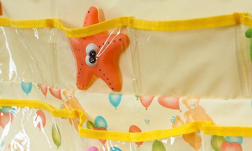 Подвесные карманы Чудо-Чадо Капитошка в ванную желтые (10)