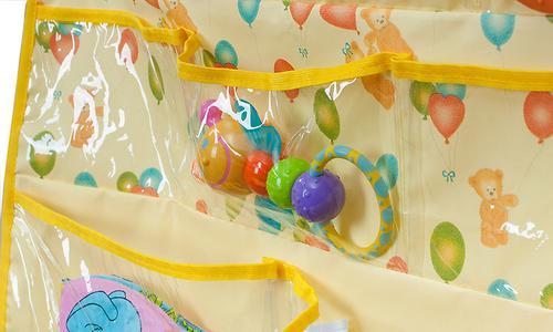 Подвесные карманы Чудо-Чадо Капитошка в ванную желтые (9)