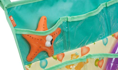 Подвесные карманы Чудо-Чадо Капитошка в ванную зеленые (8)