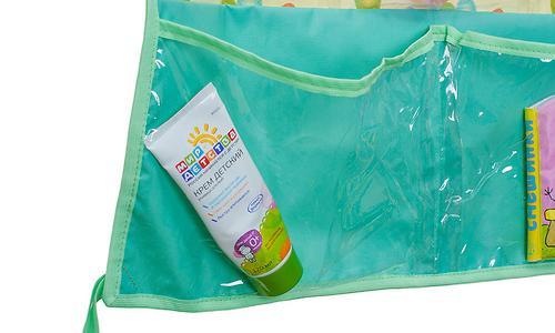 Подвесные карманы Чудо-Чадо Капитошка в ванную зеленые (7)