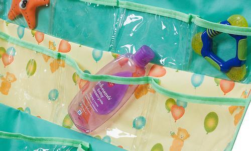 Подвесные карманы Чудо-Чадо Капитошка в ванную зеленые (6)