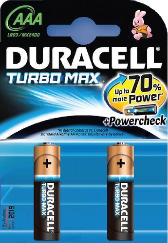 Батарейки Duracell AAA K2 Turbo Max (1)
