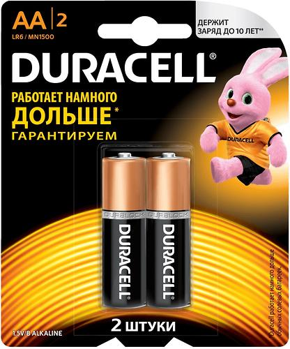 Батарейки Duracell AA K2 (1)