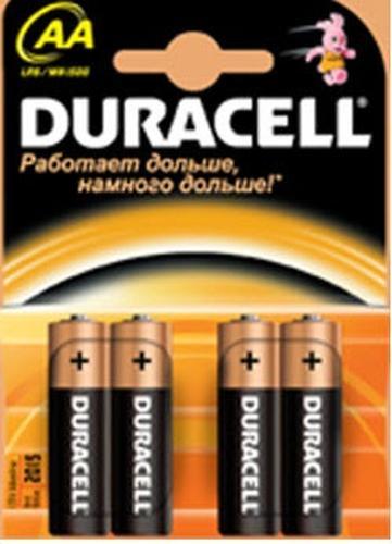 Батарейки Duracell Basic AA K4 (1)