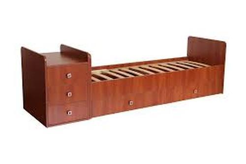 Кроватка детская Фея 1100 Орех (4)