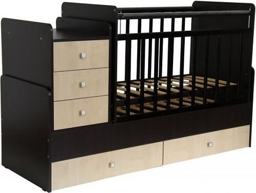 Кроватка детская Фея 1100 Венге-Клен (3)