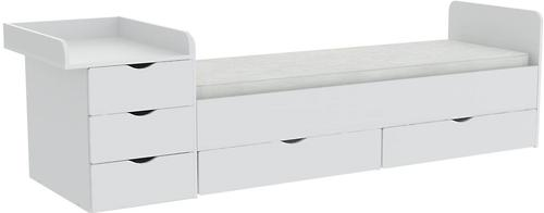 Кроватка-трансформер Фея 1150 Белый (6)
