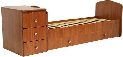 Кроватка детская Фея 2100 орех (4)