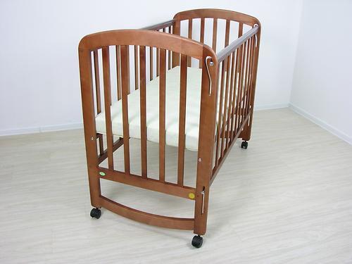 Кроватка детская Фея 304 Орех (7)