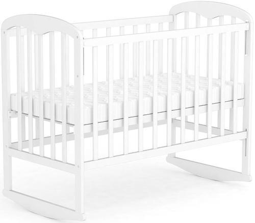 Кровать детская ФЕЯ 323 белая (6)