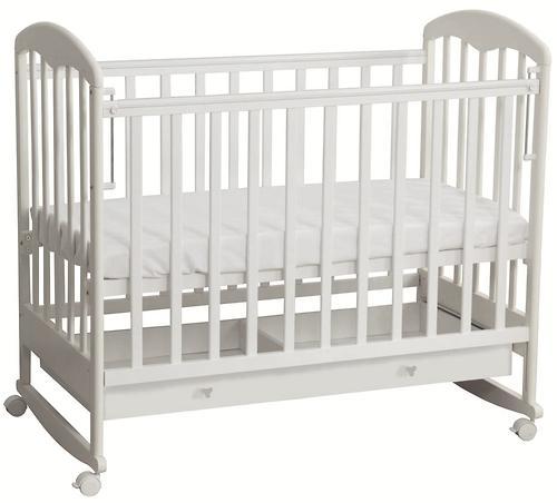 Кровать детская Фея 325 белая (5)