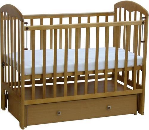 Кроватка детская ФЕЯ 328 медовый (4)