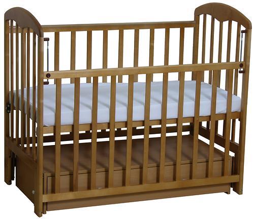 Кроватка детская ФЕЯ 328 медовый (5)