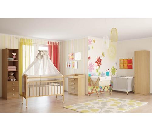 Кроватка детская Фея 203 орех (5)