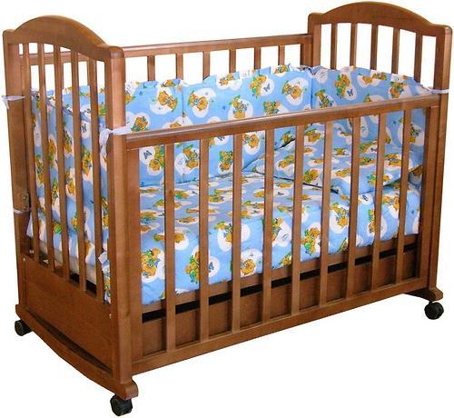 Кровать детская Фея 633 Тёмный мёд (1)