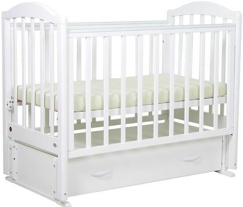 Кровать детская Фея 660 Белая (8)