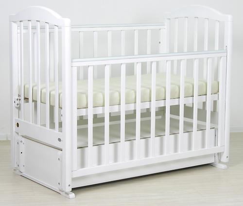 Кровать детская Фея 660 Белая (9)