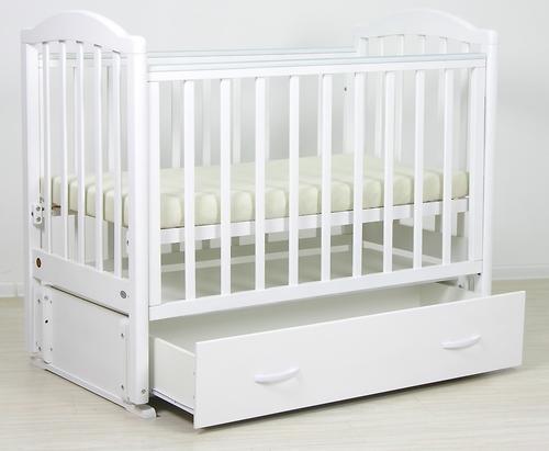 Кровать детская Фея 660 Белая (10)