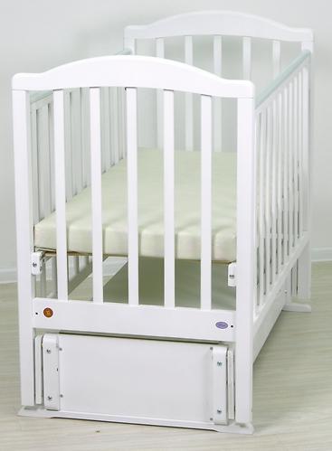 Кровать детская Фея 660 Белая (11)