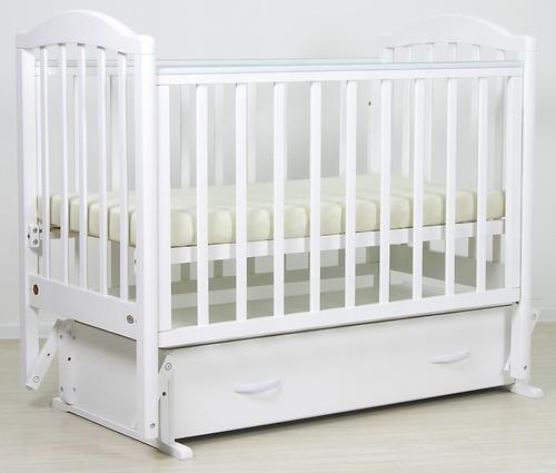 Кровать детская Фея 660 Белая (12)