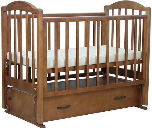 Кровать детская Фея 660 Тёмный мёд (7)