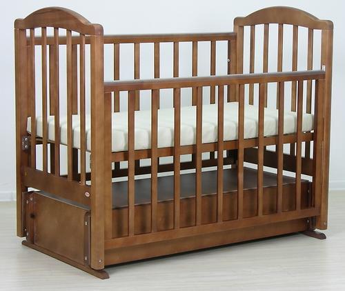 Кровать детская Фея 660 Тёмный мёд (8)