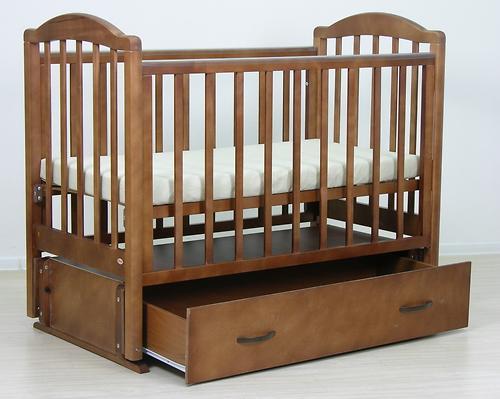 Кровать детская Фея 660 Тёмный мёд (9)