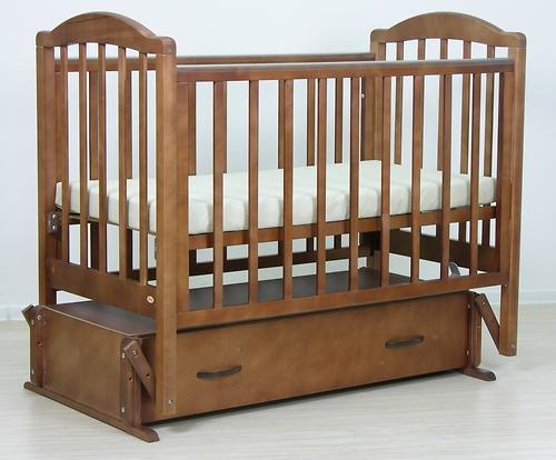 Кровать детская Фея 660 Тёмный мёд (10)