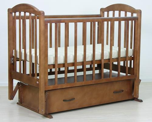 Кровать детская Фея 660 Тёмный мёд (11)