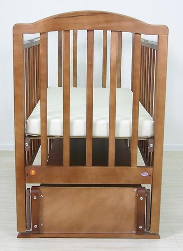 Кровать детская Фея 660 Тёмный мёд (12)