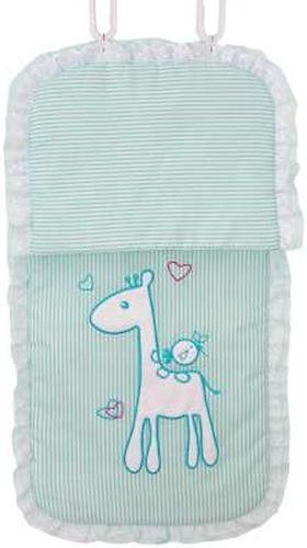 Комплект в детскую коляску Fairy Жирафик Голубой (8)