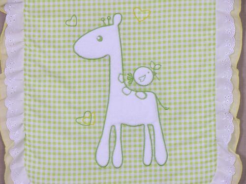 Комплект в детскую коляску Fairy Жирафик Голубой (11)