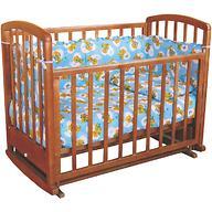 Кровать детская Фея 610 Тёмный мёд