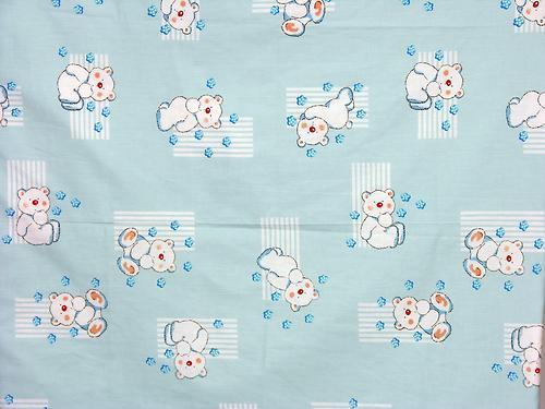 Комплект в кроватку Фея Мишки, 7 предметов, Голубой (11)