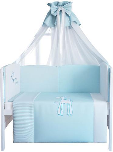 Комплект в кроватку Fairy Жирафик, 7 предметов, 120х60 (4)