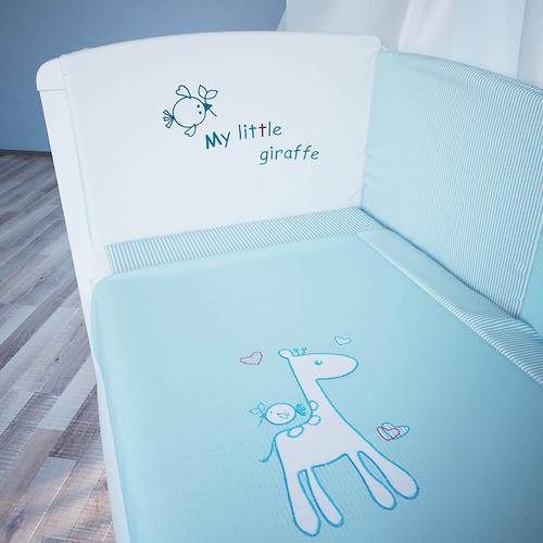 Комплект в кроватку Fairy Жирафик, 7 предметов, 120х60 (6)