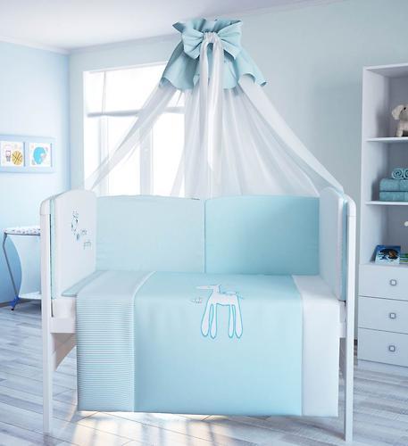 Комплект в кроватку Fairy Жирафик, 7 предметов, 120х60 (5)