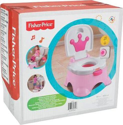Fisher Price Горшок королевский розовый (10)