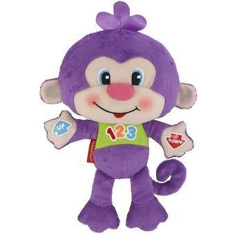 Игрушка Fisher-Price Смейся и учись Веселая обезьянка - Minim