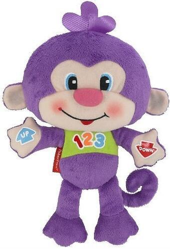 Игрушка Fisher-Price Смейся и учись Веселая обезьянка (5)