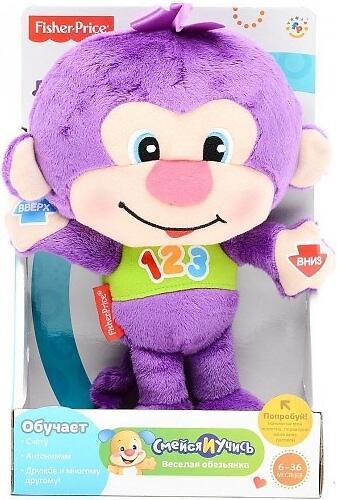 Игрушка Fisher-Price Смейся и учись Веселая обезьянка (6)