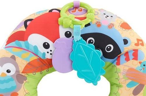 Игрушка Fisher-Price Музыкальная массажная подушка для игр на животе (7)