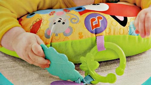 Игрушка Fisher-Price Музыкальная массажная подушка для игр на животе (10)