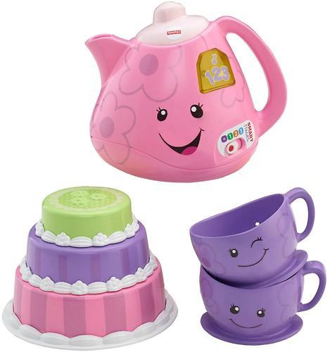 Игрушка Fisher-Price Смейся и учись Набор для чаепития (7)