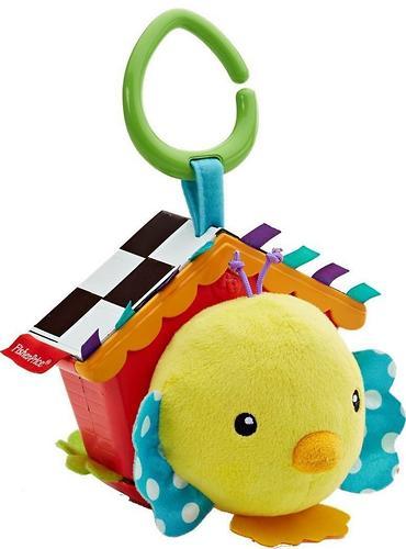 Мягкая игрушка-подвеска Fisher-Price Птенец в скворечнике (5)