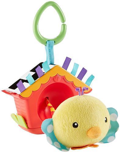 Мягкая игрушка-подвеска Fisher-Price Птенец в скворечнике (6)