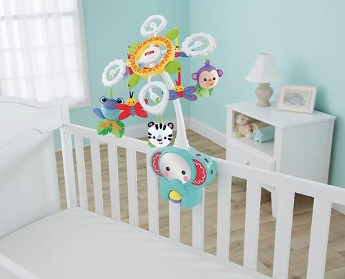 Мобиль Fisher-Price для детской кровати и игр на полу (11)