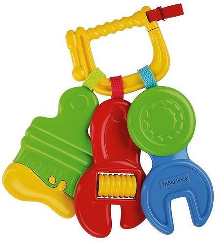 Fisher Price Набор инструментов - зубопрорезывателей (4)