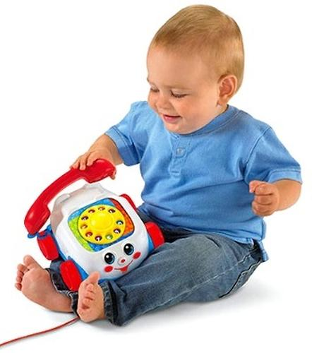 Fisher Price Веселый телефон (8)