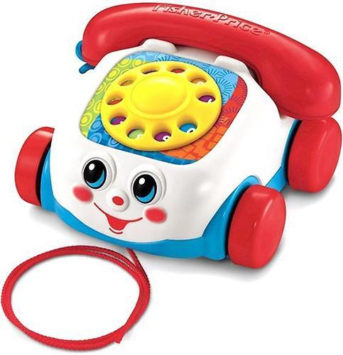 Игрушка-каталка Fisher-Price Веселый телефон (5)